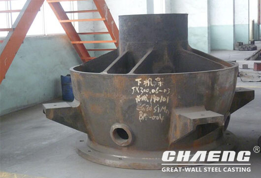 crusher bottom frame