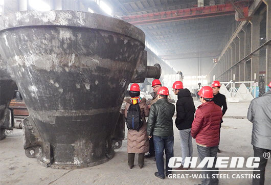 Finland customer for CHANG slag pot