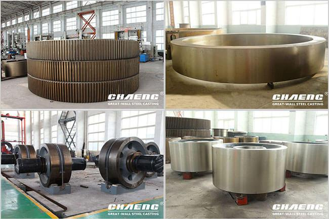 rotary dryer rotary kiln spare parts
