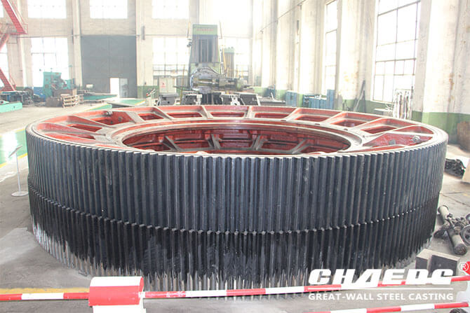 cast steel girth gear CHAENG