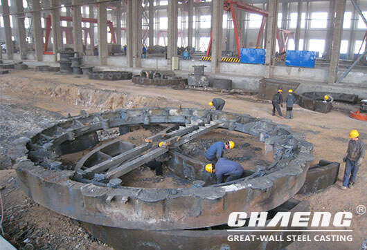 girth gear casting manufacturer